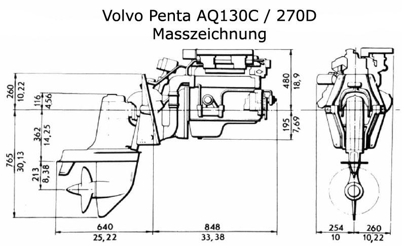 volvo penta aq130 engine  volvo  free engine image for