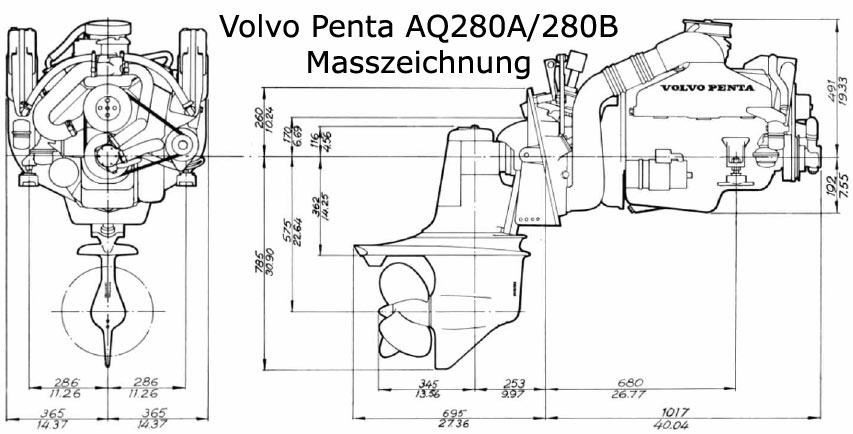 Volvo Penta Aq A B on Volvo Penta Logo